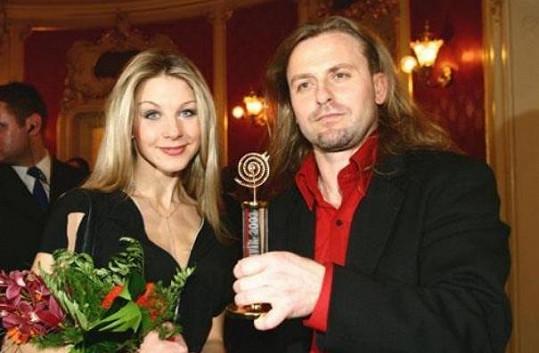 Laurinová a Vojtek před rozchodem v roce 2004.