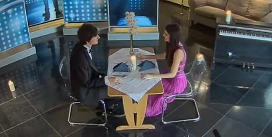 Romantická večeře Terezy a Martina