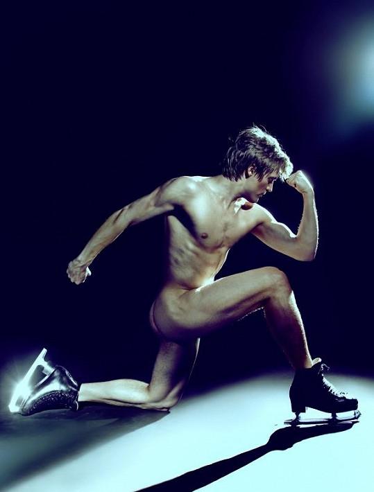 Tomáš Verner se ukázal úplně nahý.