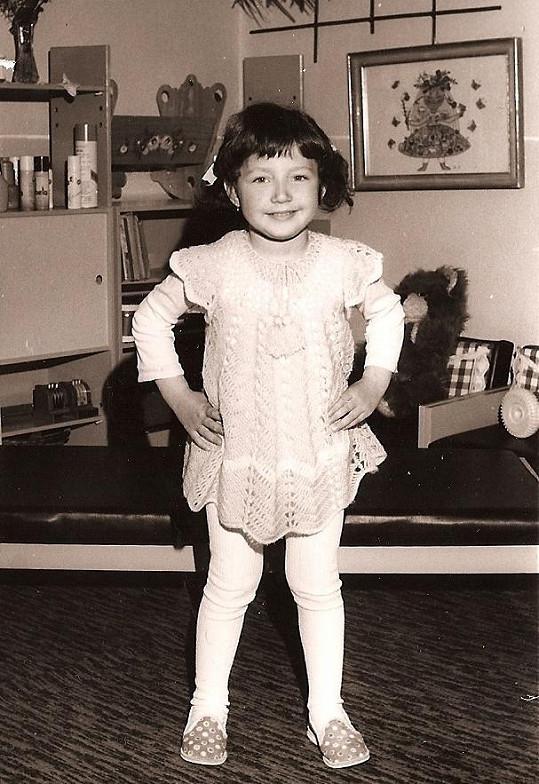 Olga byla rozkošné dítko.