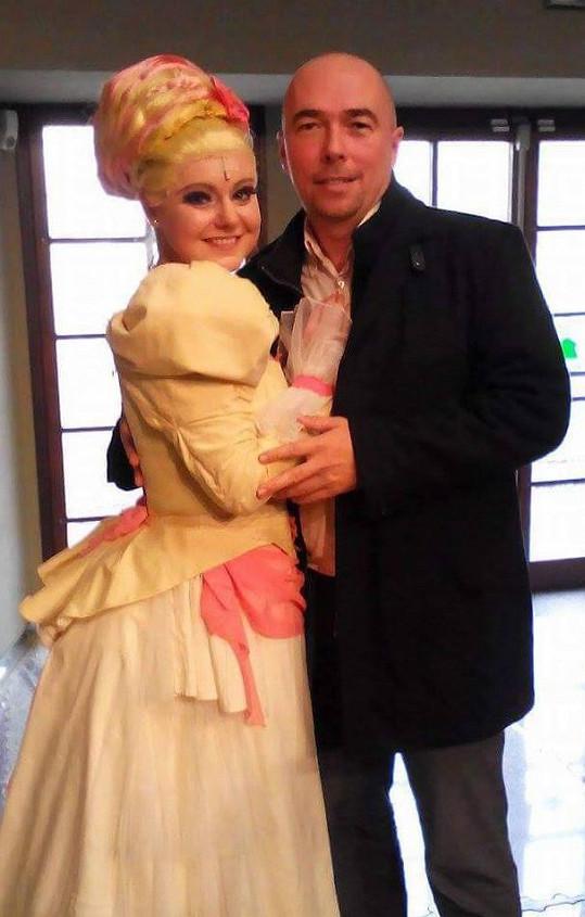 Gabriela Urbánková s přítelem Petrem