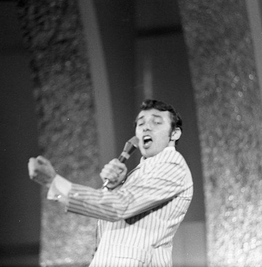 Karel Gott na 2. Bratislavské lyře (1967)