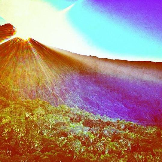 Východ slunce na Réunionu
