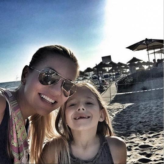 Prostřednictvím Instagramu poslali Dara a Laura pusu všem maminkám během jejich svátku.