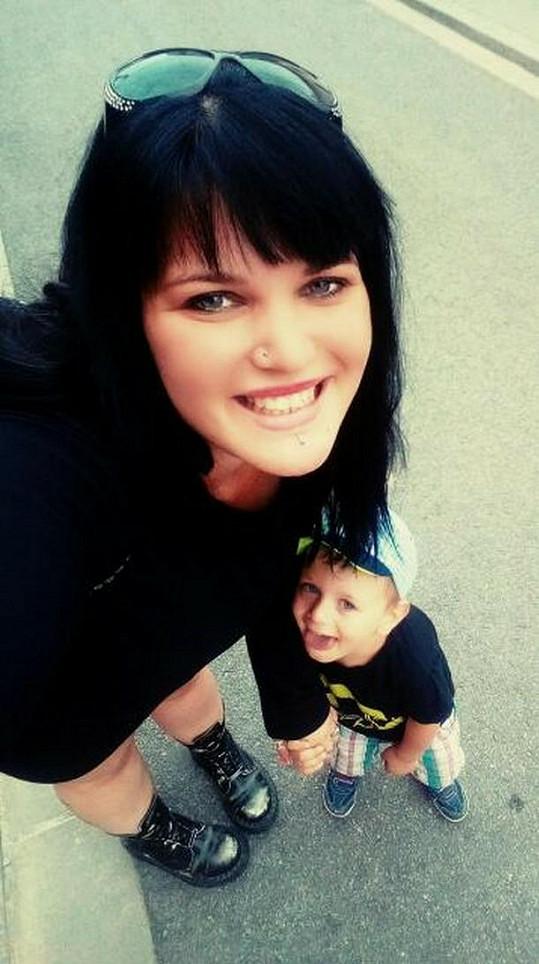 Leona Šenková má dnes už 3,5letého syna.