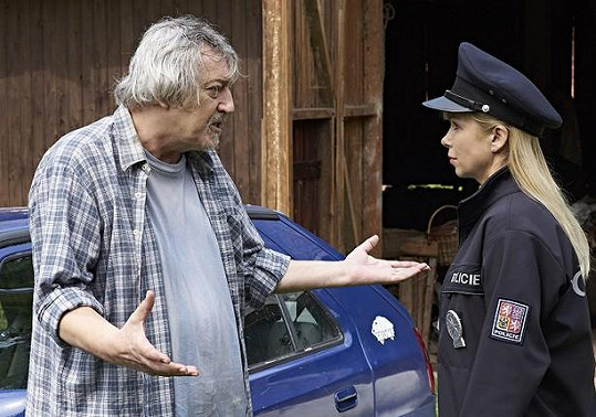 Zdeněk Dolanský v seriálu Policie Modrava