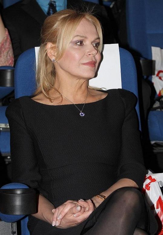 Dagmar Havlová byla módním klenotem závěru festivalu Febio.