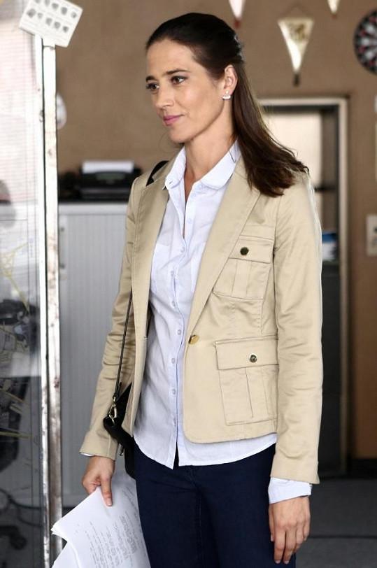 Kolesárová přijala roli policejní psycholožky.