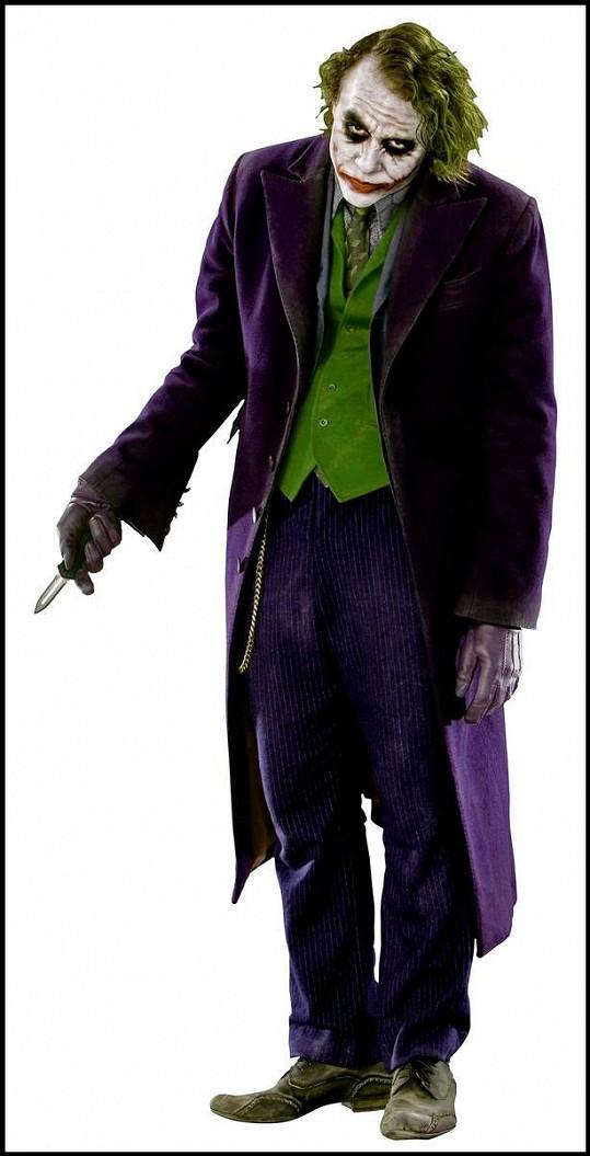 Heath Ledger získal za roli Jokera v Temném rytíři (2008) posmrtně Oscara.