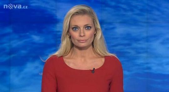 Lucie Borhyová působí zničeným dojmem.