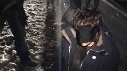 Vrah T. (38) krátce po zatčení.