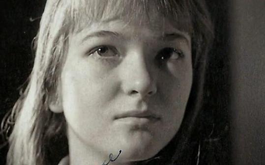 Takto vypadala Carmen Mayerová jako mladá dívka.