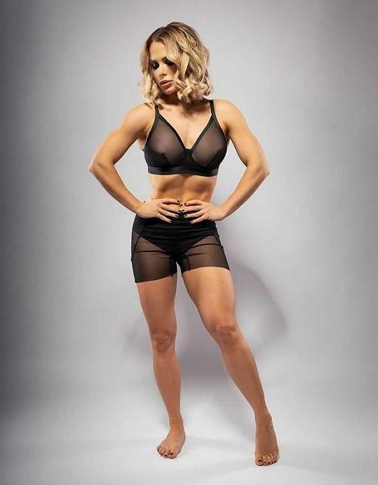 Někdejší tanečnice se věnuje fitness.