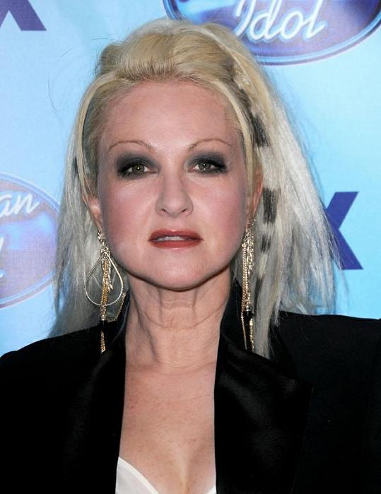 Cyndi Lauper na snímku z roku 2009