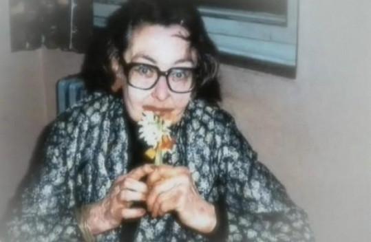 Hana Vítová nedlouho před svou smrtí.