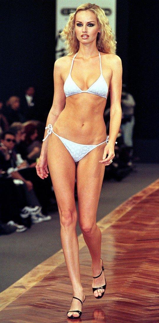 Byla žádanou modelkou.