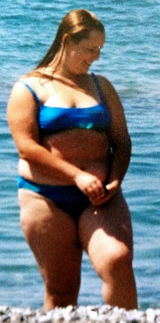 Tatyana Rybakova ve svém tučném období