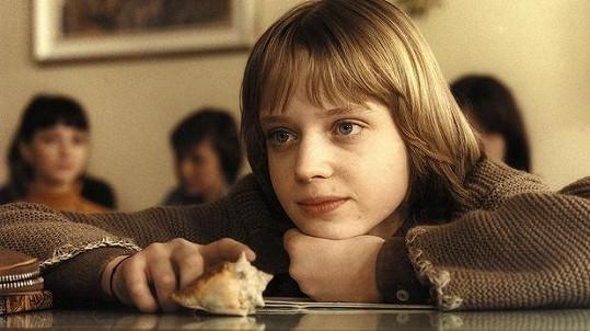 Dita ve své nejslavnější roli. Jako Vendula ve filmu Dívka s mušlí.