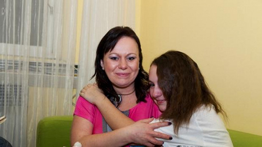 Romana s dcerou Nikolou