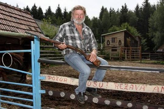 Stanislav Sekanina je typický farmář už od pohledu.