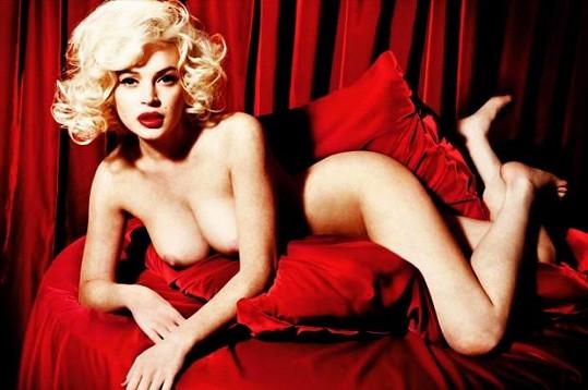 Lindsay pózovala i pro Playboy.