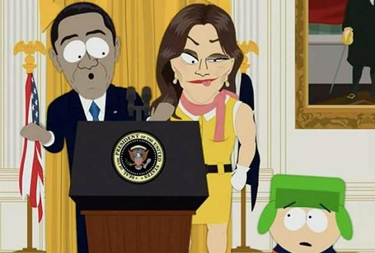 Caitlyn Jenner se objeví v nové řadě Městečka South Park.