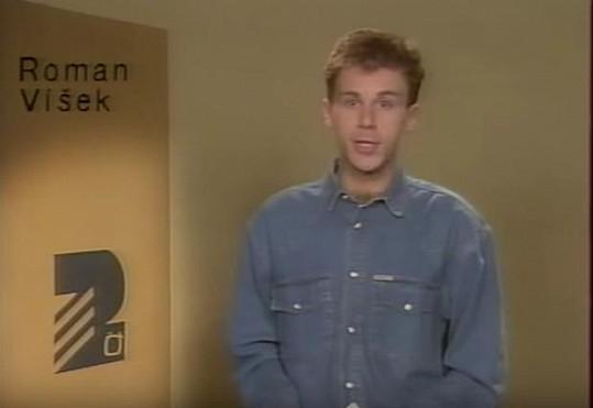 Roman Víšek na archivním snímku z roku 1993