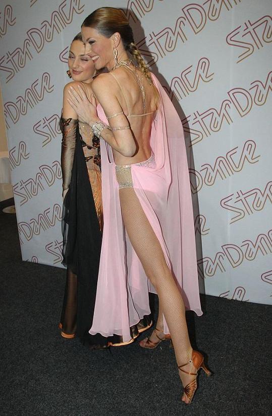 Pavlína měla nejodvážnější šaty ze soutěžících.