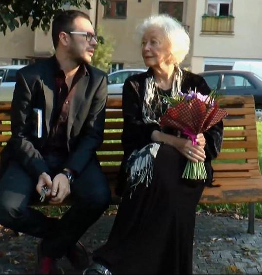 Květa Fialová a Josef Kubáník jsou blízcí přátelé.
