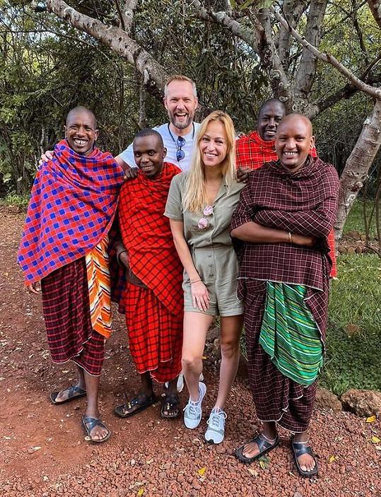 Langmannová cestuje po Africe.