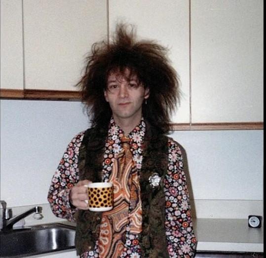 Fotograf v době, kdy začal experimentovat s drogami.