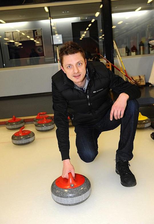 Ondřej Ruml byl fanouškem curlingu už od dětství.