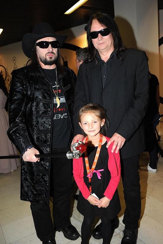 Robert Kodym a P.B.Ch. s dcerkou.