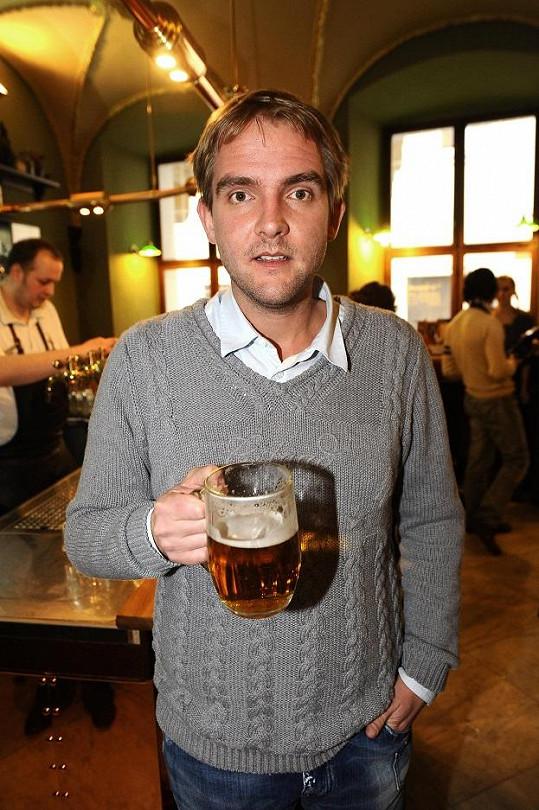 Libor Bouček má rád českou krajinu a pivo.