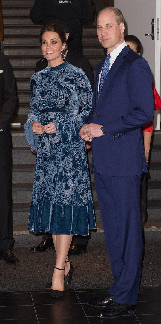 Kate a William na státní návštěvě Švédska