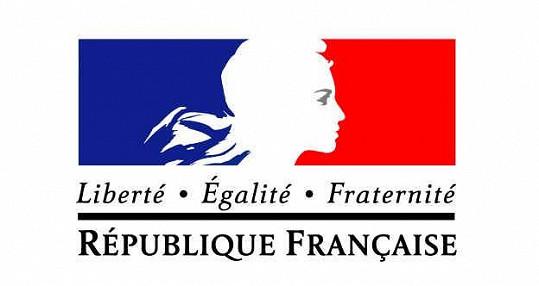 Marianne na logu francouzské vlády.