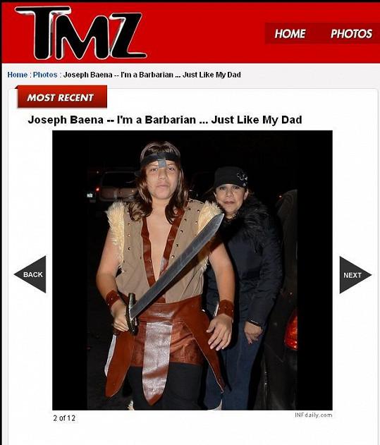 Nemanželský syn Arnolda Schwarzeneggera jako by otci z oka vypadl.