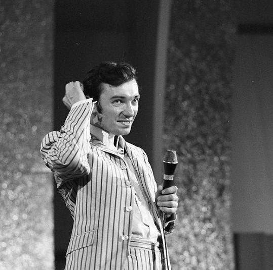 Karel Gott v roce 1967