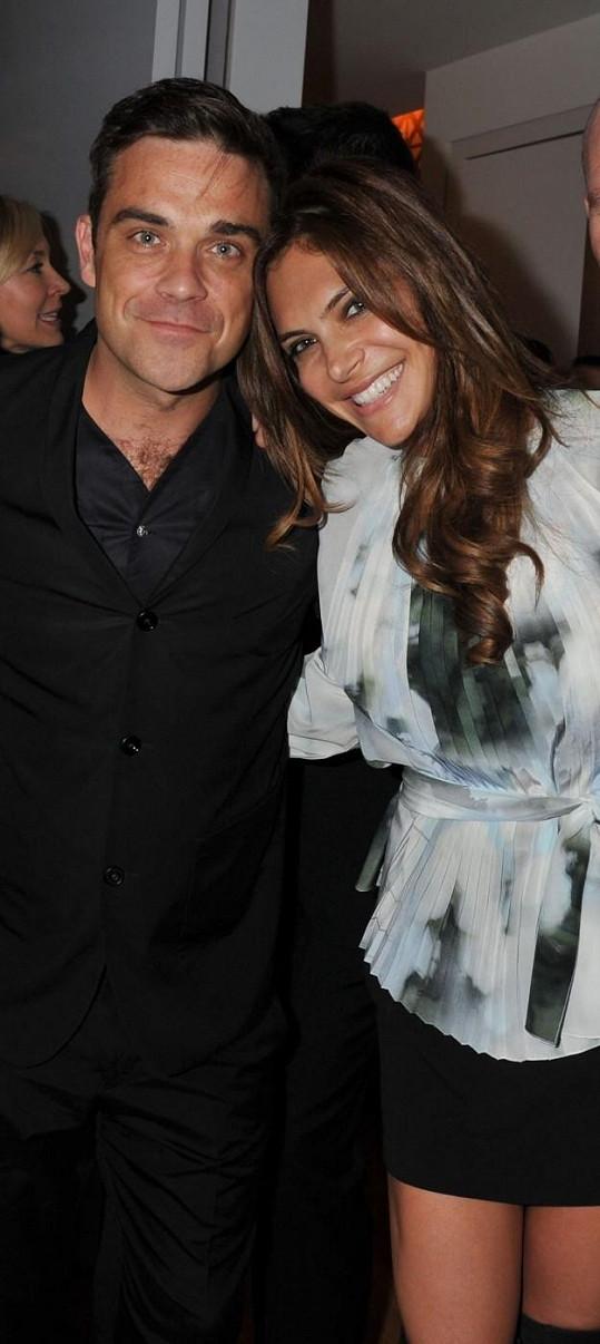 Ayda Field s Robbie Williamsem.