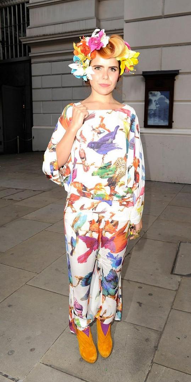 Paloma Faith na londýnském fashion weeku v roce 2011