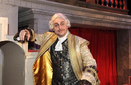 Marian Vojtko jako hrabě Valdštejn