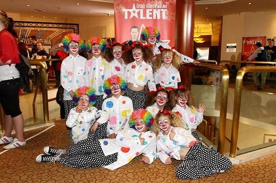 V novém Talentu možná uvidíme i rozkošné klaunky a klauny.