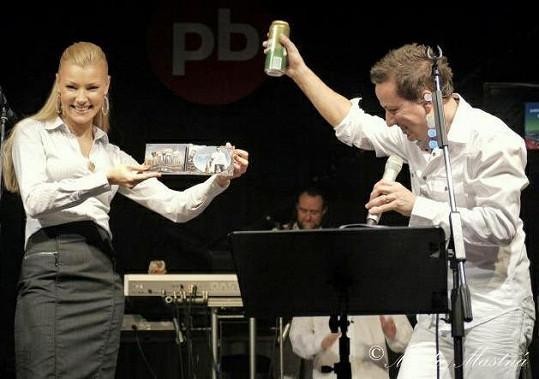 Petrovým hostem na vánočním turné byla Helena Zeťová.
