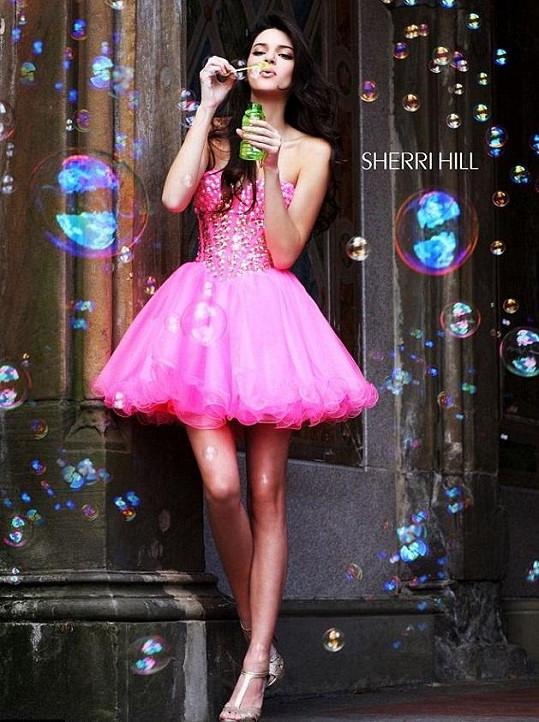 Sedmnáctiletá Kendall Jenner je nadějnou modelkou.