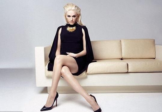 Gwen Stefani pro britskou verzi časopisu Marie Claire.