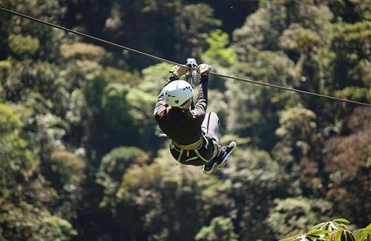 V Kostarice se dá zažít i trochu adrenalinu.
