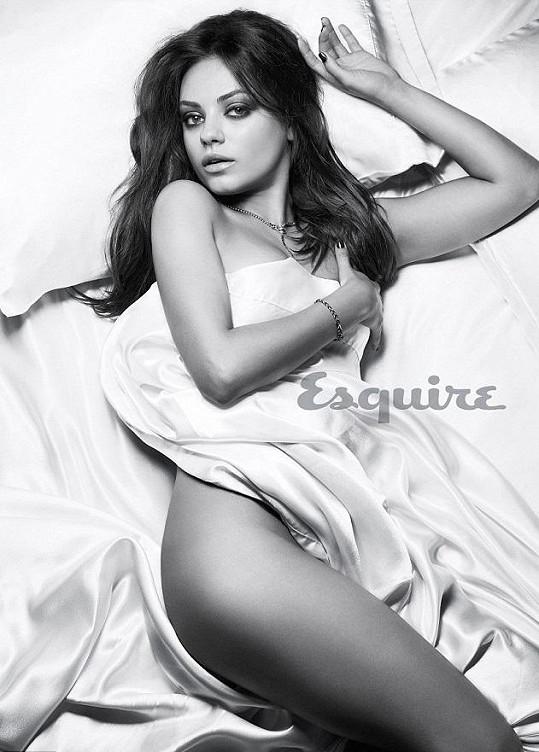 Mila Kunis byla časopisem Esquire loni vyhlášena nejvíc sexy ženou.