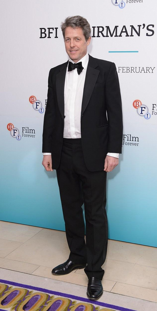 Hugh Grant narazil na svou filmovou milenku.