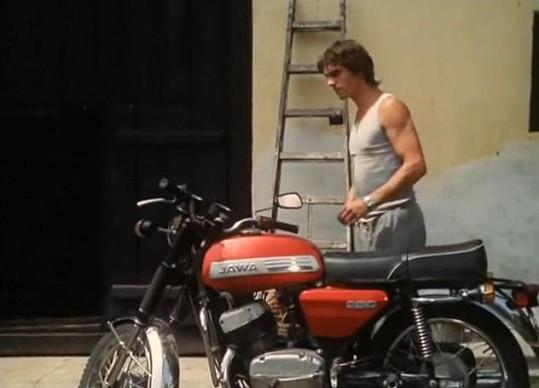 Broněk Černý vyměnil motorku za kamion a brázdí Evropu.