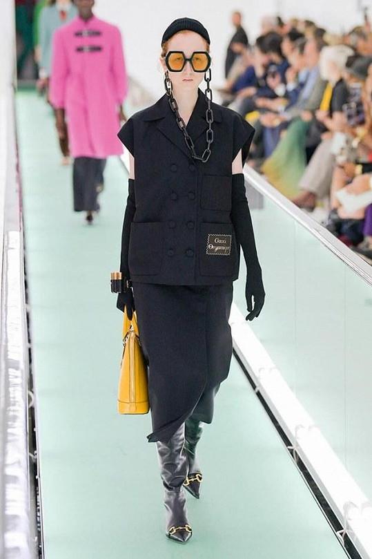 Barbora na fashion show Gucci